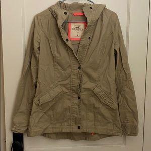 NWT Hollister Khaki Jacket Sz M